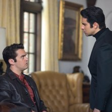 Jersey Boys: John Lloyd Young con Vincent Piazza in una scena del film