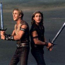 Young Hercules: Ryan Gosling e Dean O'Gorman in una scena