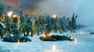 Il trono di spade: una scena dell'episodio The Watchers on the Wall