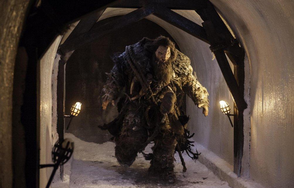 Il trono di spade: una scena della battaglia nell'episodio The Watchers on the Wall