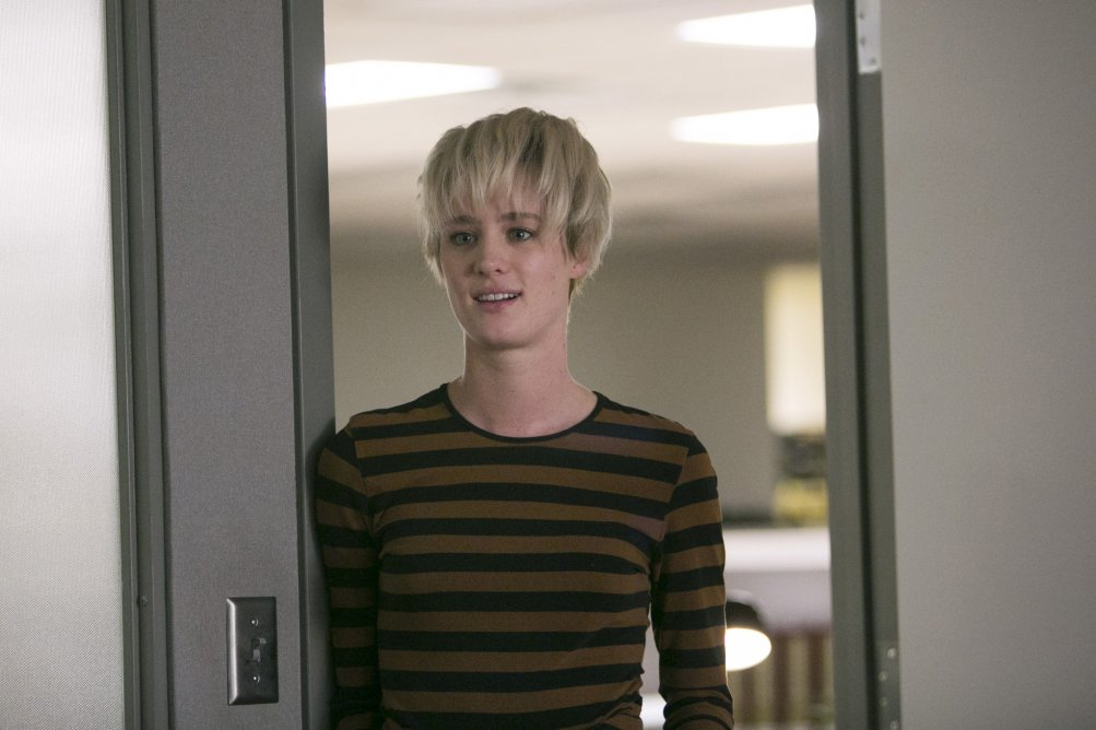 Halt and Catch Fire: Mackenzie Davis nell'episodio FUD