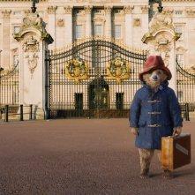 Paddington: l'orsetto Paddington di fronte a Buckingham Palace