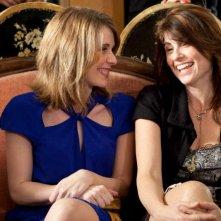 La pioggia che non cade: Francesca Nunzi e Viviana Colais in una scena del film