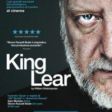 King Lear: la locandina dell'evento del Nation Theatre