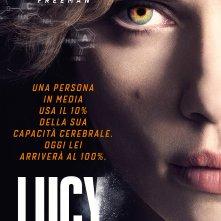 Locandina italiana di Lucy