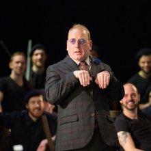 King Lear: Adrian Scarborough è il Giullare in una scena della pièce