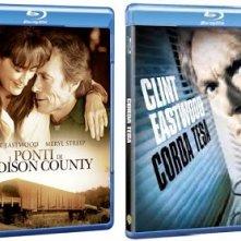 Le cover dei blu-ray de I Ponti di Madison County e di Corda tesa
