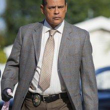 Major Crimes: Raymond Cruz in una scena dell'episodio Flight Risk