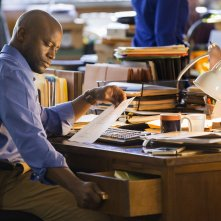 Murder in the First: una scena del pilot con Taye Diggs