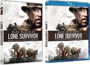 Le cover homevideo di Lone Survivor