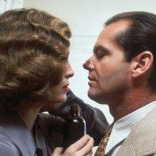 Chinatown: Faye Dunaway e Jack Nicholson in un momento del film