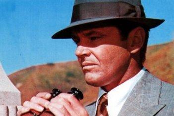 Chinatown: Jack Nicholson in una scena del film