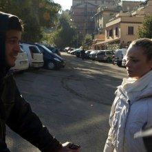 Carta bianca: Mohamed Zouaoui in una scena del film con Tania Angelosanto