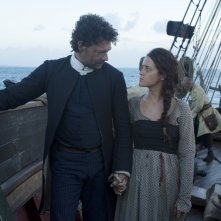 Crossbones: Claire Foy e Richard Coyle in The Man Who Killed Blackbeard
