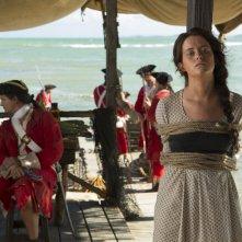 Crossbones: Claire Foy in una scena di The Man Who Killed Blackbeard