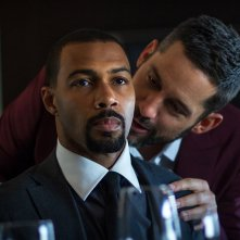 Power: Omari Hardwick e Adam Huss in una scena