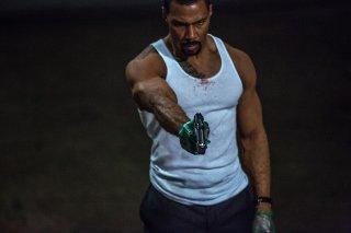 Power: Omari Hardwick in una scena d'azione