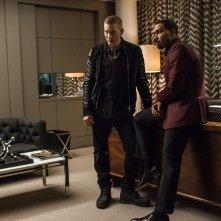 Power: Omari Hardwick e Joseph Sikora in una scena della prima stagione