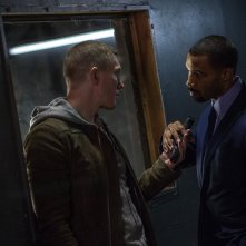 Power: Omari Hardwick e Joseph Sikora in una scena