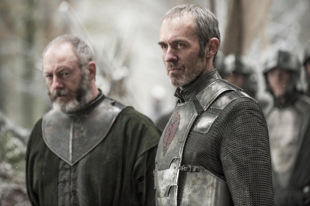 Il trono di spade: Liam Cunningham e Stephen Dillane nell'episodio The Children