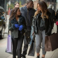 Power: Naturi Naughton, Sinqua Walls e La La Anthony in una scena