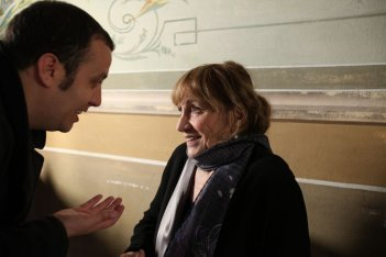 Tutte le storie di Piera: Peter Marcias e Piera Degli Esposti in una scena del documentario