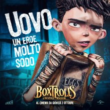 Boxtrolls - Le scatole magiche: il character banner italiano di Uovo