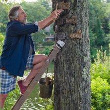Big Wedding: Robert De Niro si arrampica su un albero in una scena del film