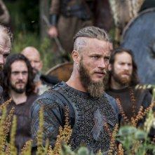 Vikings: Travis Fimmel e Gustaf Skarsgård nell'episodio Treachery