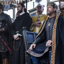 Vikings: George Blagden e Linus Roache nell'episosdio Blood Eagle