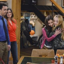 Girl Meets World: Ben Savage, Rowan Blanchard, Sabrina Carpenter nel pilot