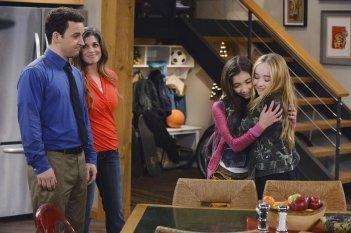 Girl Meets World: Ben Savage, Rowan Blanchard, Sabrina Carpenter nel pilot