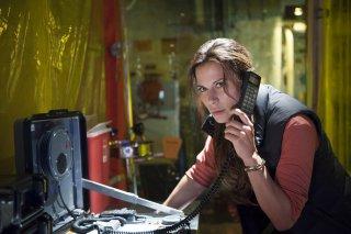 The Last Ship: un momento dell'episodio Phase Six con Rhona Mitra