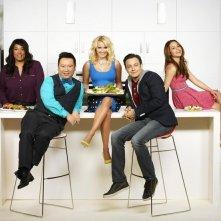 Young & Hungry: il cast in un' immagine promozionale della prima stagione