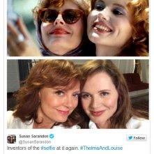 Sarandon e Davis: un selfie 20 dopo Thelma & Louise
