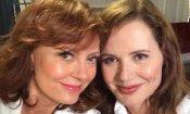 Susan Sarandon e Geena Davis, un selfie per Thelma & Louise