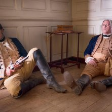 TURN: Seth Numric e Michael Gaston nell'episodio Of Cabbages and Kings