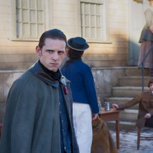 TURN: Jamie Bell in una scena dell'episodio Of Cabbages and Kings