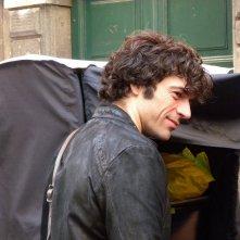 Fratelli unici: Luca Argentero sul set del film