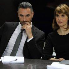 Scusate se esisto: Raoul Bova con Paola Cortellesi in una scena del film