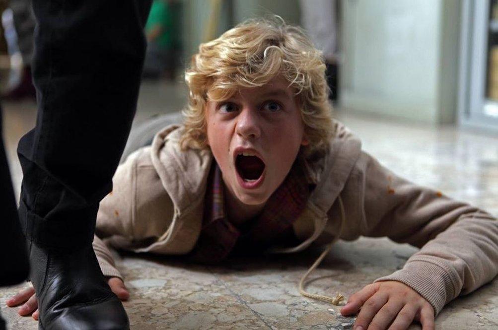 Il ragazzo invisibile: il protagonista Ludovico Girardello in una scena del film