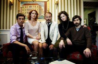 I nostri ragazzi: il regista del film con i quattro protagonisti in una foto promozionale