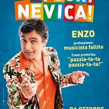 ...E fuori nevica!: il character poster di Enzo (Vincenzo Salemme)