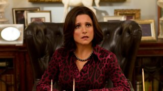 Veep: una scena dell'episodio Nicknames con Julia Louis-Dreyfus