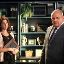 CSI: Paul Guilfoyle in una scena dell'episodio Giochi infernali. 2a parte