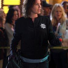 CSI: Jorja Fox in una scena dell'episodio Rapina al casinò