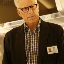 CSI: Ted Danson in una scena dell'episodio Keep Calm and Carry On