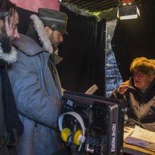 Torneranno i prati: il regista Ermanno Olmi sul set con Claudio Santamaria