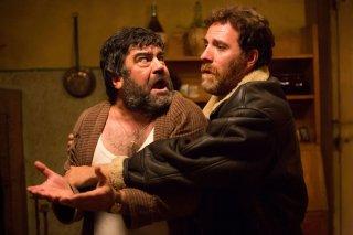 Ogni maledetto Natale: Valerio Mastandrea con Francesco Pannofino in una scena