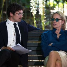 Un ragazzo d'oro: Riccardo Scamarcio con Sharon Stone in un momento del film